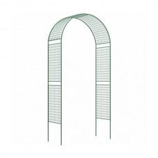 Арка садовая разборная «сетка широкая» 2,5x0,5x1,2 м