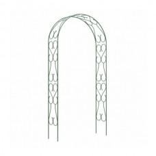 Арка садовая разборная «узорная широкая» 2,5х0,38х1,2м