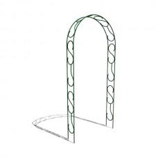 Арка садовая разборная «узорная узкая» 2,5x1,2x0,2 м.