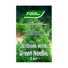 """Буйские Удобрение """"Зеленая игла"""" коробка 1 кг."""