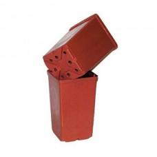 Горшок для рассады квадратный 15 см х 15 см х 20 см