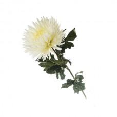 Искусственный цветок Хризантема белая 1 шт.