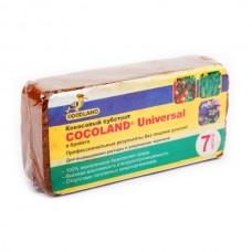 Кокосовый субстрат COCOLAND® Universal в брикетах, 7 литров