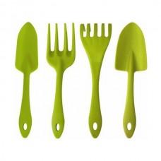 Набор садовых инструментов InGreen 4 предмета, салатовый (ING60009СЛ)