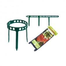 """Опора Комплект-Агро для ягодных кустарников, садовое кольцо """"Клубника"""", 10 шт."""
