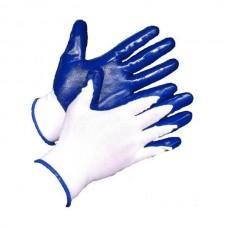 Перчатки нейлоновые с нетриловым обливом