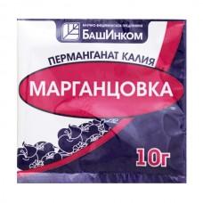 Перманганат калия марганцовка БашИнком, 10 гр.
