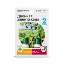 Пестицид Avgust Двойная защита сада Топаз 10 мл. + Биотлин 9 мл.