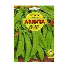 Семена Аэлита Горох овощной Детская сладость, 25 гр
