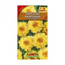 Семена Аэлита Портулак крупноцветковый Махровый желтый 0,05 гр