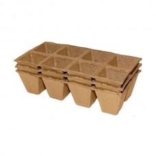 Торфяные горшочки Tip Top Garden, 70x70 мм 8 ячеек, 3 шт.