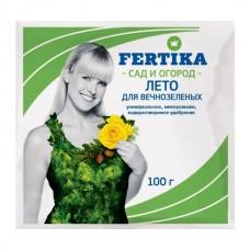 Удобрение Fertika Хвойное для Вечнозеленых, Лето, 100 г.