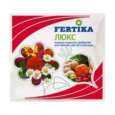 Удобрение Fertika люкс для овощей, цветов и рассады, 20 гр.