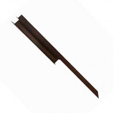 Угловой элемент металл 90 град. для грядок Holzhof Для досок 30*225мм коричневый 1 шт